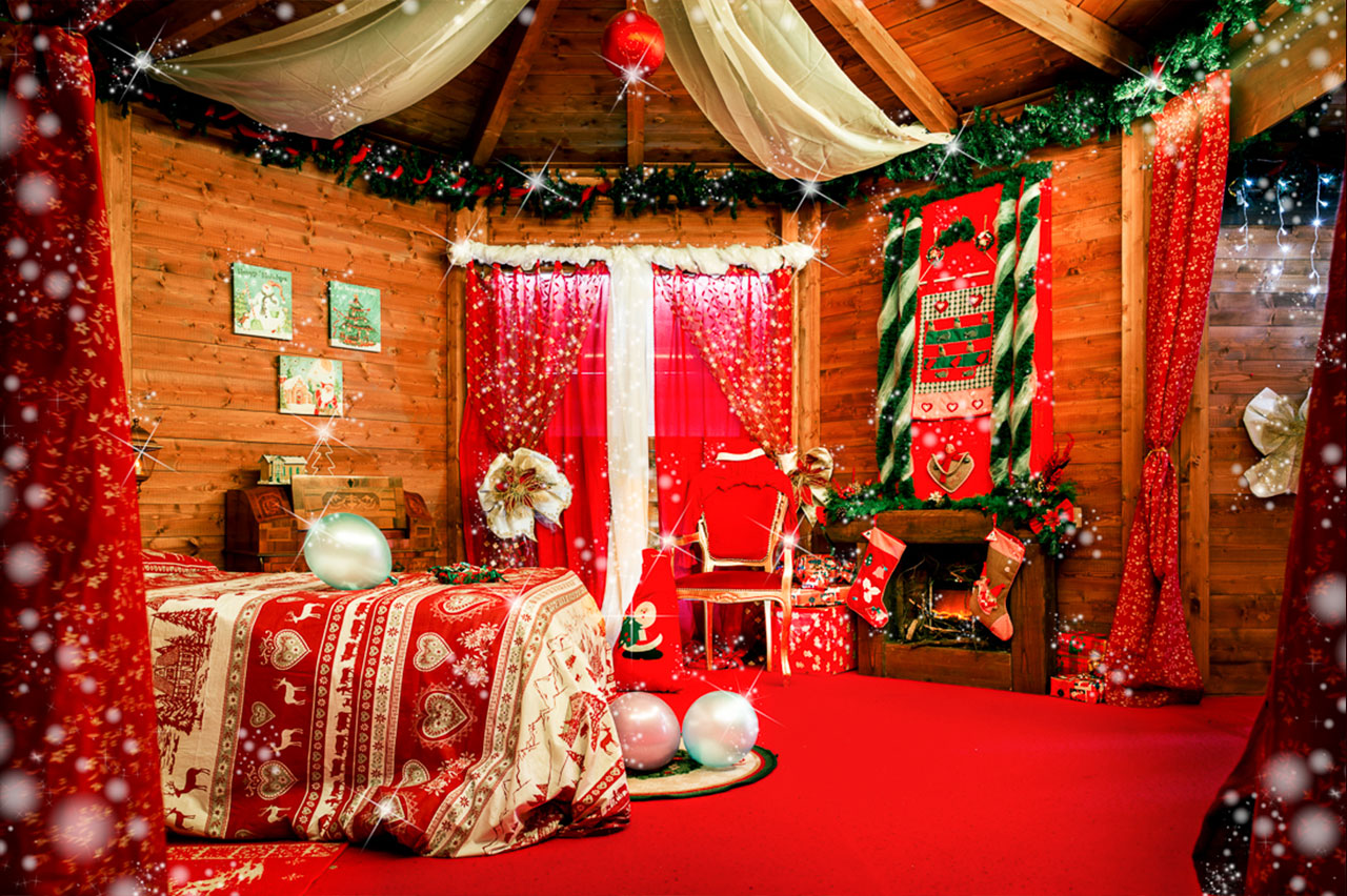 A Casa Di Babbo Natale.La Casa Di Babbo Natale Babbo Natale E Gli Elfi