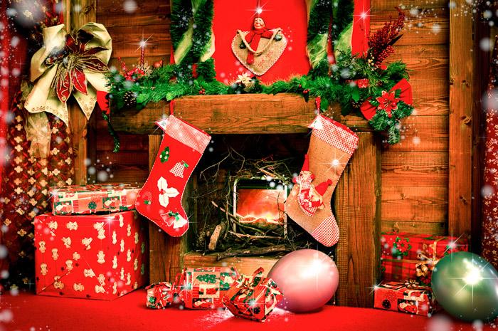 La Casa Di Babbo Natale Immagini.La Casa Di Babbo Natale Babbo Natale E Gli Elfi