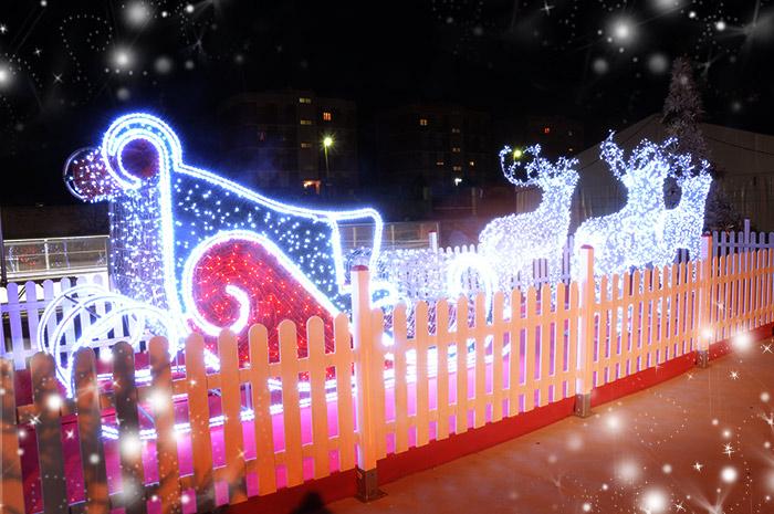 Casa di Babbo Natale - Renne Golfo Aranci